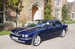 Jaguar Xj8 Wedding car